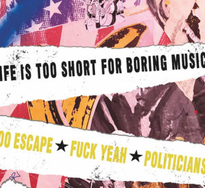 Life is too short for boring music