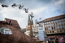 Mehr Airtime beim Red Bull District Ride 2014