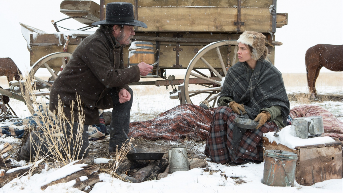 The Homesman / Tommy Lee Jones, Hillary Swank