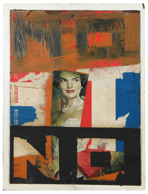 Boris Lurie, NO withMrs. Kennedy, 1963, © The Boris Lurie Art Foundation