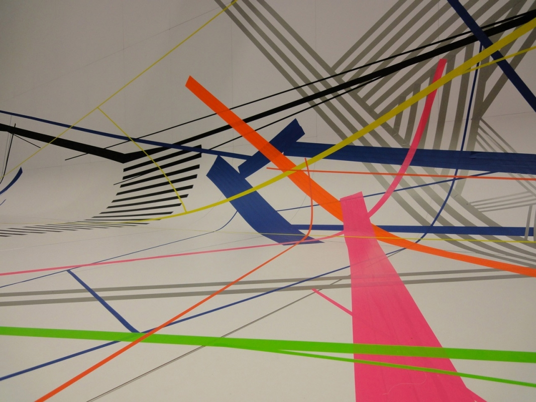 Tape-Art, Foto: Julian Vogel