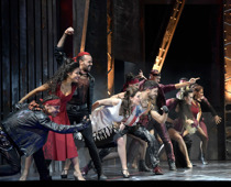 West Side Story, Oper, Staatstheater Nürnberg, Foto: Bettina Stöß