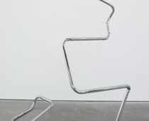 Wade Guyton, Untitled Action Sculpture (Breuer), 2003, Courtesy: Sammlung Haubrok, Foto: Ludger Paffrath
