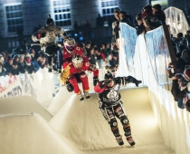 Red Bull Crashed Ice Action. Foto: Joerg Mitter_Red Bull Content Pool