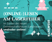 Online Lesung am digitalen Lagerfeuer