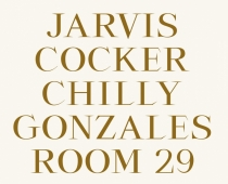 Jarvis Cocker //Chilly Gonzales: Room 29