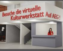 AEG aber virtuell. Bild: Global Art