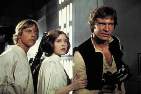 Mark Hamill, Carrie Fisher, Harrsion ford, © 20th Century Fox